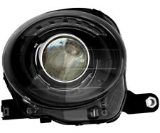 Headlight Assembly w/Bulb Black Trim Right Passenger Side For 2012-2017 Fiat 500