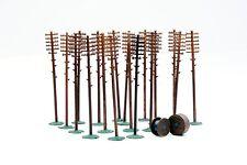 Dapol C024 Telegraph Poles (20) Kit OO Gauge
