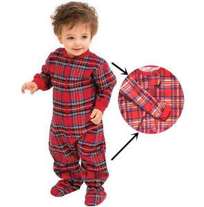 2021 Christmas Pyjamas Family Matching  Sleepwear Pajamas Loungewear PJS Plaid