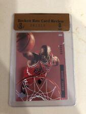 1993-94 Upper Deck SE Behind The Glass Michael Jordan # G11 BGS RCR 8 Near Mint