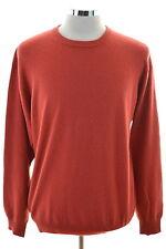 Daniel Hechter Mens Jumper Sweater Medium Red Wool Viscose