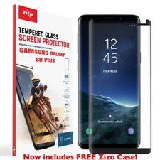 Zizo TEMP. GLASS s8+ Case Friendly Black Screen Protector For Samsung Galaxy S8+