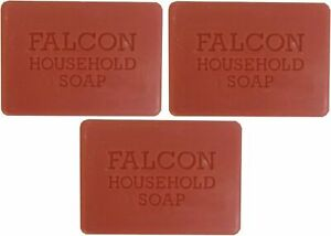 Falcon Red Carbolic Household Soap   125g  -  3 Bars or 6 Bars