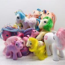 Vintage My Little Pony G1 Bait Job Lot of 13 Ponies Mix Authentic/Fakie/Babies