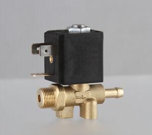 DC24V 1/4 NC brass male Argon Arc Mig Tig Automatic welding machine steam valve