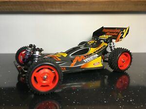Custom Tamiya Top Force / Evolution Body Shell and Rear Wing by Revive RC
