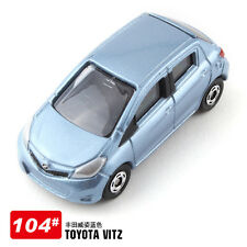JAPAN TOMICA 104 TOYOTA VITZ (SPECIAL BLUE COLOR ) DIECAST CAR MODEL 392477