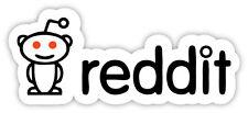 reddit social news adesivo etichetta sticker 15cm x 6cm