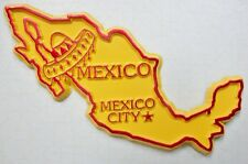 Mexico With Hat Mexico City Fridge Magnet