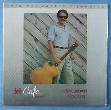 STEVE BROWN good lines MFSL audiophile LP
