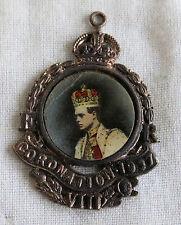 EDOARDO VIII MEDAGLIA DELL'INCORONAZIONE 1937 con centro fototipo