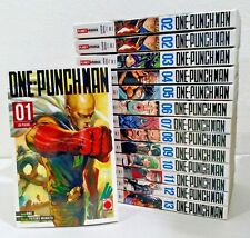 manga ONE-PUNCH MAN N. 1-2-3-4-5-6-7-8-9-10-11-12-13-14 sequenza completa panini