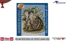 BITS & PIECES CATS ILLUSTRATION 750 PIECE JIGSAW PUZZLE 59X64cm BNIB SEALED