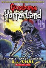 r.l. Stine __ Say Cheese und lachend__Goosebumps Horrorland__BRANDNEU