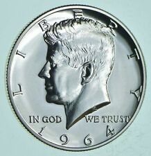 PROOF - 1964 Kennedy Half Dollar 90% Silver - Stunning Mirrors *035