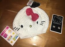 Hello Kitty Loungefly Sparkle Hat Rhinestone Earrings Lot Justice Stickers
