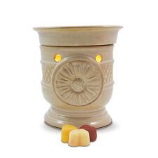 SALE ITEM - Electric wax burner (warmer) SUNFLOWER + light & Scrumptious tarts