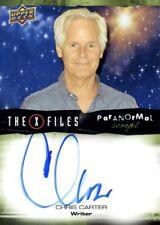 Upper Deck The X-Files Autograph / Auto Card, A-CC Chris Carter as Writer