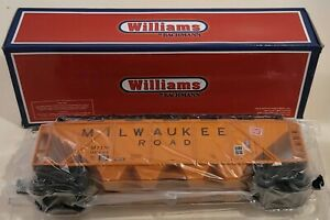 Williams Trains Model # 47606 O-Gauge Milwaukee Road Quad Hopper Car NIOB! (531)