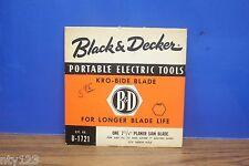 """BLACK & DECKER BLADE KRO-BIDE V-1721 71/4""""D- 5/8"""" Round  PLANER SAW"""
