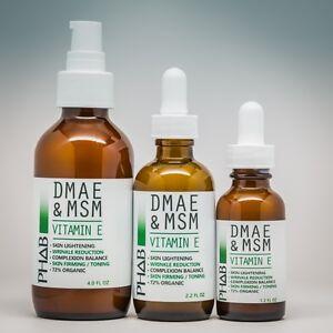 DMAE & MSM Serum-Natural Organic Skin Firming Anti Aging Wrinkle Skin Care Cream
