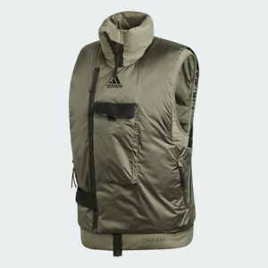 adidas Down Vest C.r in Green for Men - FT2418