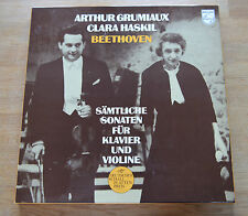 Beethoven  GRUMIAUX HASKIL compl. Sonatas Philips 4LP box 6733001