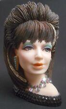 Cameo Girls Deluxe Lady Vases Sasha 1983 Disco Fever EUC LV-026