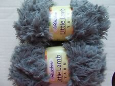 Herrschners Little Lamb soft and fuzzy yarn, Joey, lot of 2 (98 yds each)