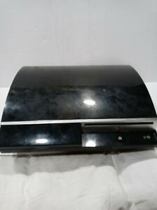 Sony PlayStation 3 PS3 Console Only CECHG-01 For Parts Or Repair Black ylod
