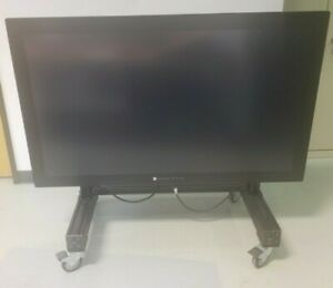"""Microsoft 55"""" Perceptive Pixel - Electric Lift stand and road case"""