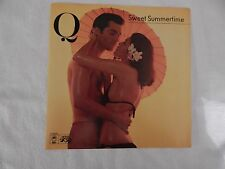 "Q ""Sweet Summertime"" PICTURE SLEEVE! BRAND NEW! ONLY ONE ON eBAY!!"