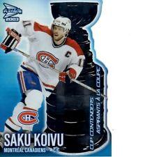 2002-03 McDonald Prism Hockey Cup Contenders #4 Saku Koivu