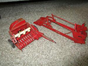 JI Case IH Farmall McCormick Farm Toy Tru Scale Eska Carter Loader Forage Cutter