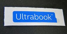 Ultrabook Slim Size Laptop Sticker 8 x 32.5mm Badge Logo