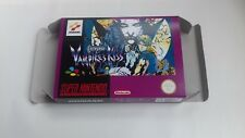 Castlevania Vampire's Kiss - PAL  - Super Nintendo - Snes - Only Box