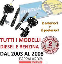 4 AMMORTIZZATORI ANTERIORI+POSTERIORI BILSTEIN VW GOLF 5 V (1K1) DAL 2003 A 2008