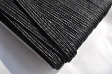 4mm Japanese silk tsuka-ito, black