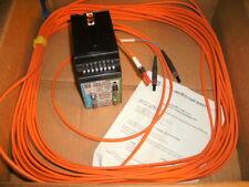 SQUARE D 9005 FTR2 SYMAX TRANSCEIVER & 9005 FCA015A 15 METER FIBER OPTIC CABLE