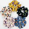 Women Elastic Hair Rope Ring Ties Flower Scrunchie Ponytail Holder Hair Band Hot