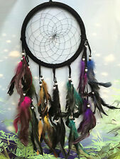 22cm multi colour dreamcatcher - dream catcher - feathers