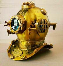 Antique Boston Morse Marine Vintage Diving Helmet Brass Scuba Divers Navy Divers