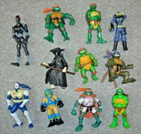 TEENAGE MUTANT NINJA TURTLES JOB LOT BUNDLE COLLECTION ACTION FIGURES SIZE A21