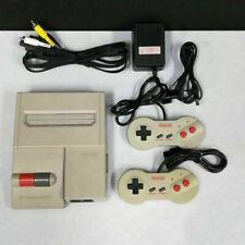 Complete Famicom AV w/ 2 Dog Bone Controllers - Nintendo HVC-101 NTSC-J NES