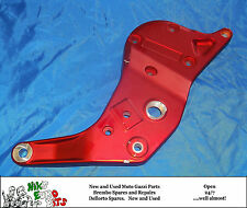 MOTO GUZZI   V11 CAFE - BALLABIO / V11 CAT   FRAME PLATE (RED ANODISED) - LHS