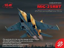 ICM 1/48 Mikoyan MiG-25RBT Soviet Reconnaissance Plane # 48901