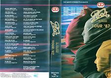 POOH Il Colore dei Pensieri Tour 1987 (1987)  VHS CD Videosuono - Rarissima