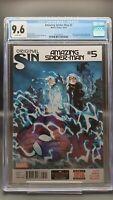 Amazing Spider-Man Vol.3 #5 CGC 9.6 (2014) Marvel - 2nd App of Silk