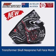 Transformer Skull Neoprene Full Face Mask skateboard Motorcycle Bike Balaclava