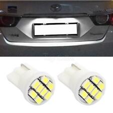 2x 6000K Xenon White T10 194 License Plate Lamp Light LED 8-SMD Bulb For Buick